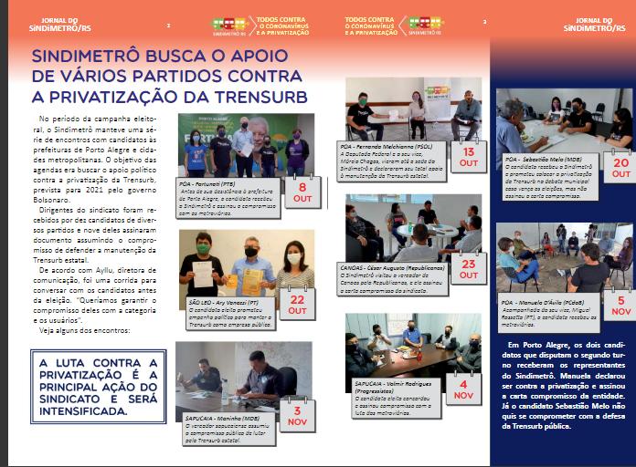 JORNAL DO SINDIMETRÔ/RS Nº150