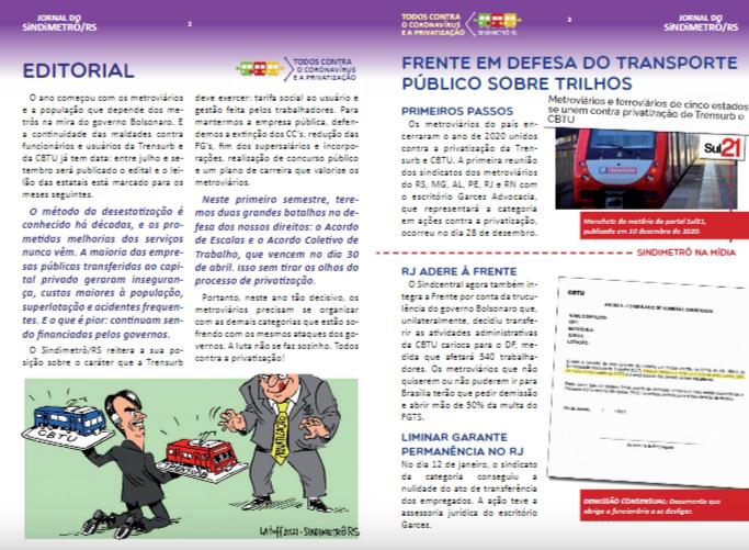 INFORMATIVO SINDIMETRÔ/RS #152